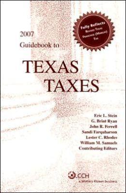 Guidebook to Texas Taxes