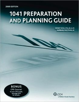 1041 Preparation and Planning Guide