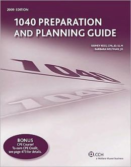 1040 Preparation and planning Guide (2009)