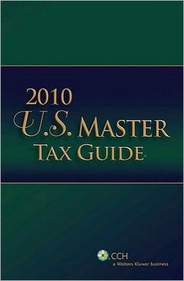 US Master Tax Guide (2010)