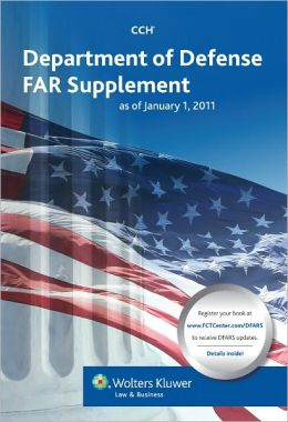 Department of Defense FAR Supplement (DFARS) as of January 1, 2011