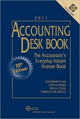 Accountiong Desk Book with CD 2011