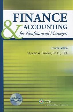 Finance and Accounting for Nonfinancial Managers with CD 2011