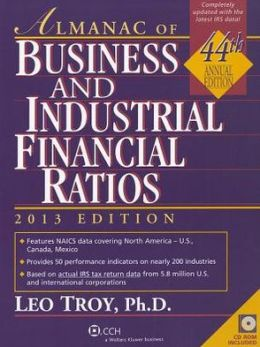 Almanac of Business and Industrial Financial Ratios (2013)