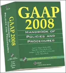 GAAP Handbook of Policies and Prcedures 2008