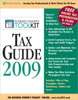 Toolkit Tax Guide 2009