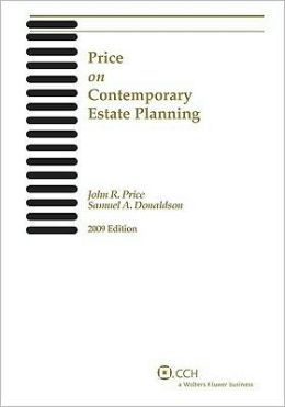 Price on Contemporary Estate Planning