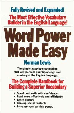 Word Power Made Easy (Turtleback School & Library Binding Edition)