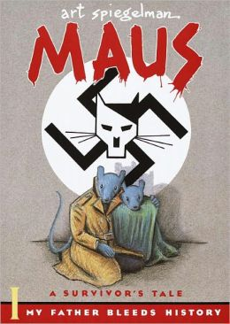 Maus I: A Survivor's Tale: My Father Bleeds History (Turtleback School & Library Binding Edition)