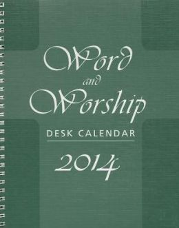 Word and Worship Desk Calendar