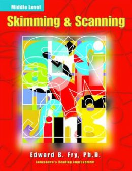 Skimming and Scanning: Middle Level (Reading Improvement Series)
