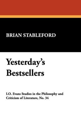 Yesterday's Bestsellers: A Voyage Through Literary History