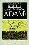 And Where Were You, Adam?