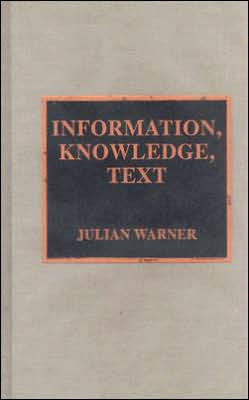 Information,Knowledge,Text