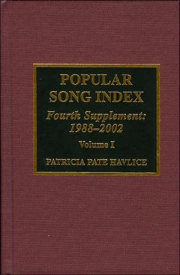 Popular Song Index, 1988-2002