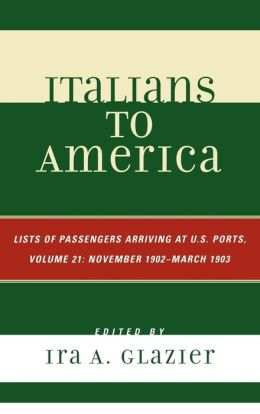 Italians To America, Volume 21