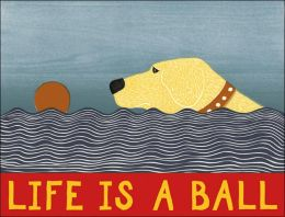 Stephen Huneck Life Is a Ball Notefolio