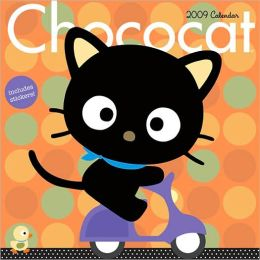 2009 Chococat w/Stickers Wall Calendar
