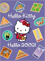 2002 Hello Kitty Weekly Engagement Calendar