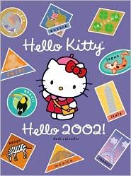 2002 Hello Kitty Weekly Engagement Calendar