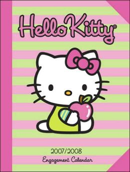 2008 Hello Kitty Engagement Calendar
