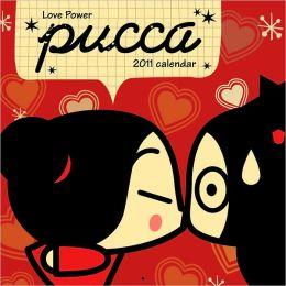 2011 Pucca Love Power Wall Calendar