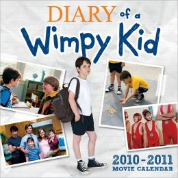 2011 Diary of a Wimpy Kid Movie Wall Calendar
