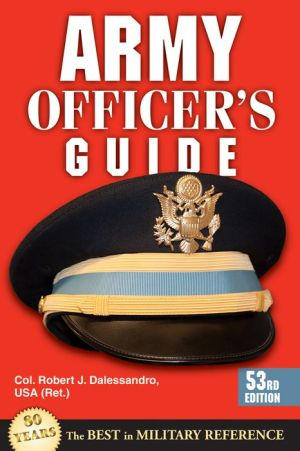 Army Officer's Guide: 53rd Edition