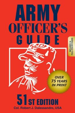 Army Officer's Guide 51st Edition