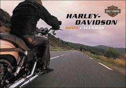 2005 Harley Davidson Wall Calendar