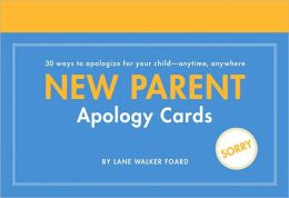 New Parent Apology Cards: 30 Cards