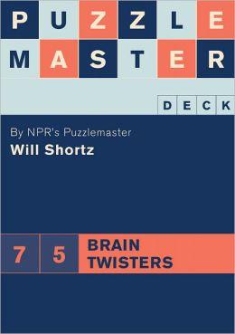 Puzzlemaster Deck: 75 Brain Twisters