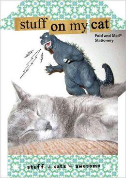Stuff on My Cat: Fold & Mail Stationery