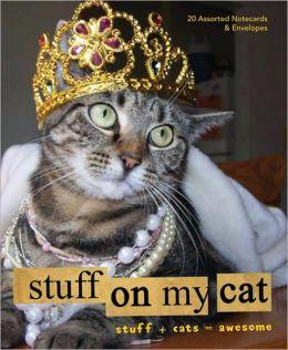 Stuff on My Cat: Notecards