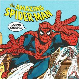 2008 Wall Calendar: Spider-Man