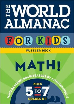 The World Almanac for Kids Puzzler Deck: Numbers & Counting: Ages 5-7, Grades K-1