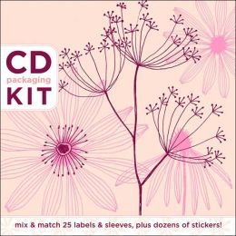 CD Packaging Kit: Petals in Pink: Mix & Match 25 Labels and Sleeves, Plus Dozens of Stickers!