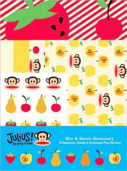 Paul Frank: Julius!: Mix and Match Stationery