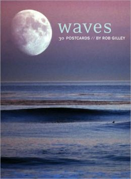 Waves Postcard Book