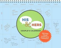 His & Hers Couples' Calendar