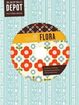Flora: 225 Vintage-Inspired Textile Designs