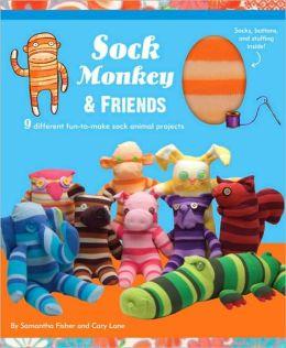 Sock Monkey and Friends Kit