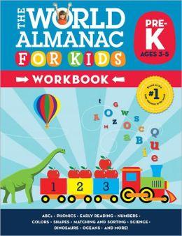 World Almanac for Kids Workbook: Pre-Kindergarten