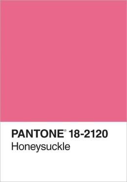 Pantone Honeysuckle 2011 Color of the Year Journal