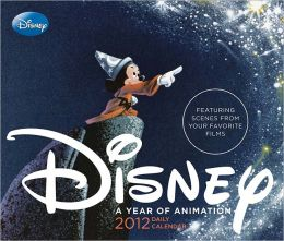 Disney 2012 Daily Calendar: A Year of Animation