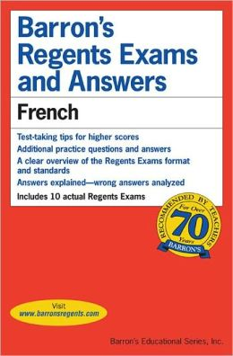 Barron's Regents Exams and Answers French