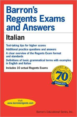 Barron's Regents Exams and Answers: Italian