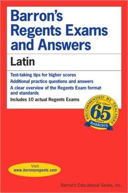 Barron's Regents Exams and Answers: Latin