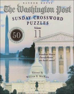 Washington Post Sunday Crossword Puzzles