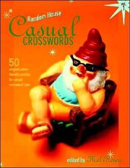 Random House Casual Crosswords, Volume 1